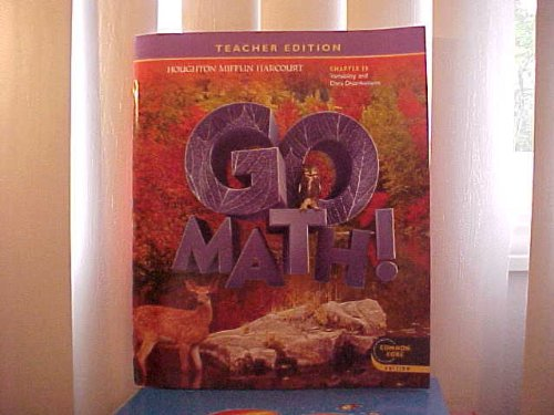 Go Math! Grade 6 Teacher Edition Chapter 13: Variability & Data Distributions (Common Core)
