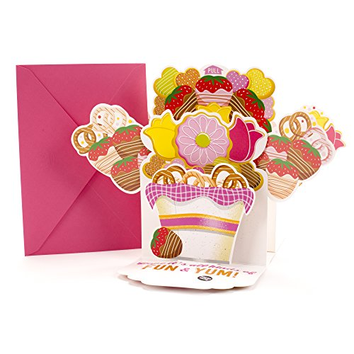 - Hallmark Mother's Day Greeting Card with Song (Bouquet of Treats Pop Up, Plays Sugar, Sugar by The Archies)