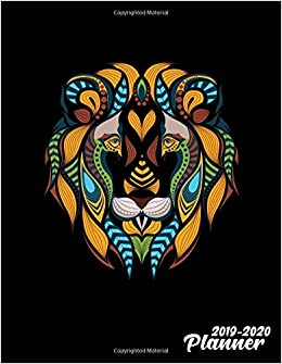 2019-2020 Planner: Nifty Leo Zodiac Tribal Daily Weekly ...