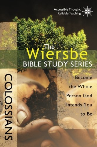 Wiersbe Bible Study Colossians Intends