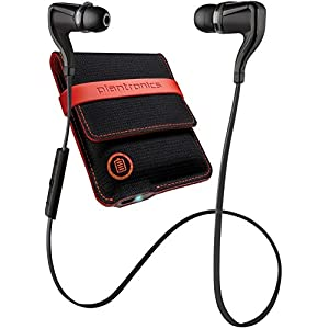 Plantronics Backbeat Go 2 205486-01 Wireless Bluetooth Earbuds - Black (Certified Refurbished)