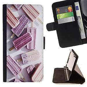 King Case - FOR Samsung Galaxy S5 Mini, SM-G800 - you are the last person - Prima caja de la PU billetera de cuero con ranuras para tarjetas, efectivo Compartimiento desmontable y correa para la mu?eca