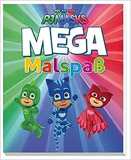 PJ Masks MEGA Malspaß : Amazon.es: Libros