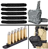 Ultimate Arms Gear .30-30 .410 Bore Shotgun .44 .45 .458 .458 .460 .50 20 Pack QuickStrips 6 Round Quick Speed Easy Loader Stripper Strips Clips + ACU Camo MOLLE Dump Ammo Magazine Pouch Drop Leg