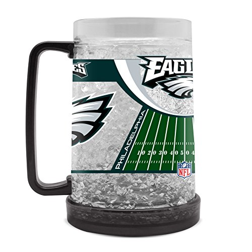 (NFL Philadelphia Eagles 16oz Crystal Freezer Mug)