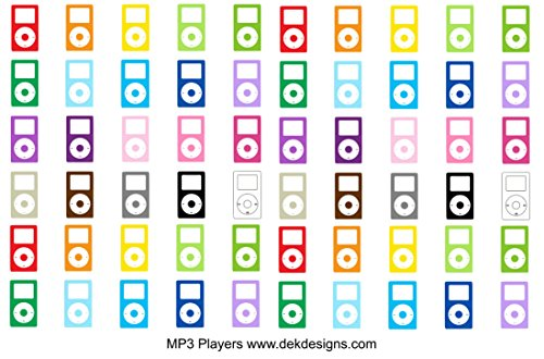 MP3-Players-12-sheet-on-matte-removeable-sized-to-fit-most-planners