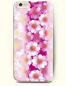iPhone 6 Plus Case 5.5 Inches Blooming Fresh Flowers - Hard Back Plastic Case OOFIT Authentic by icecream design