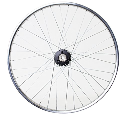 Wheel Master Rear Bicycle Wheel for Trike, 24 x 1.75 36H, Steel, Bolt On, Silver (24 Inch Rear Wheels)