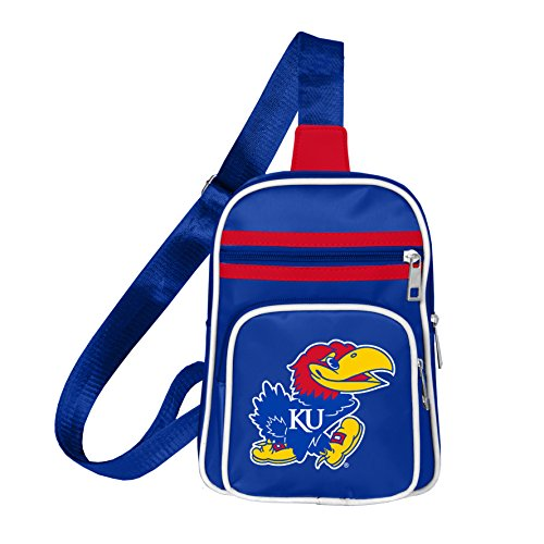NCAA Kansas Jayhawks Mini Cross Sling Bag (Jayhawks Kansas Bag Sling)