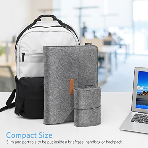 1f158e2fde5a HOMIEE 13-13.3 Inch MacBook Pro Sleeve Felt Laptop Protective Case for New MacBook  Pro