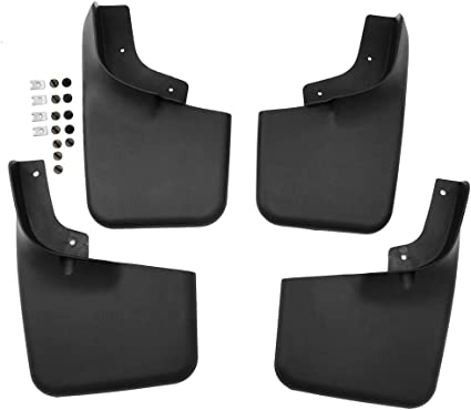 NEW 4pcs Splash Guards Mud Flaps for Ford F-150 04-14 Front and Rear W//o Flares
