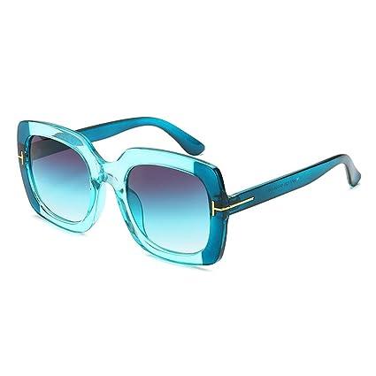 Z&HA Gafas De Sol con Montura Transparente para Mujer, Gafas ...