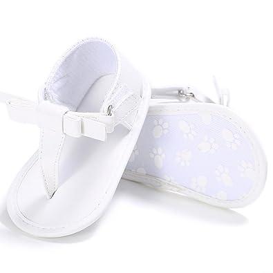 60848a0942651 Coloré TM Chaussures Bébé Fille Sandales Toddler Fille Crèche Chaussures  Nouveau-Né Fleur Doux Semelle