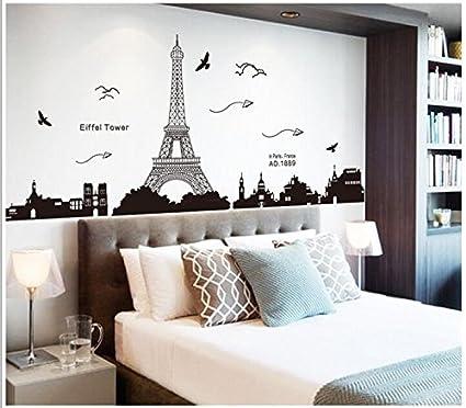 GOUZI Divano sfondo adesivo progettato per adesivi murali soggiorno ...