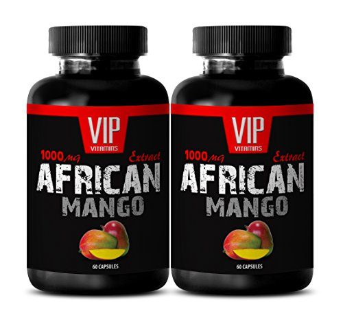Metabolism booster for weight loss - AFRICAN MANGO DIET PILLS - African mango pure - 2 Bottles 120 capsules