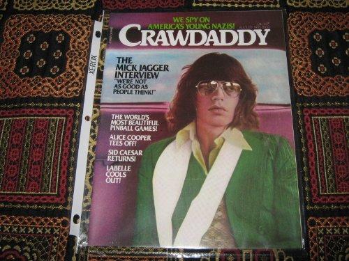 Crawdaddy Magazine (Mick Jagger , Pinball Games , Alice Cooper , Labelle)