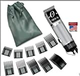 Combo New Oster Classic 76 Limited Edition Hair clipper SILVER (made in usa) very hard to find model Free (10 piece universal oster comb set)
