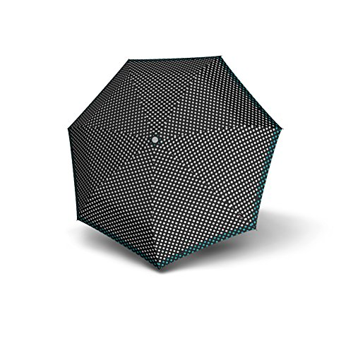Price comparison product image Knirps 1100-8270 E-Series Auto Open/Close Umbrella, One Size (Ping Pong Blue Dots)