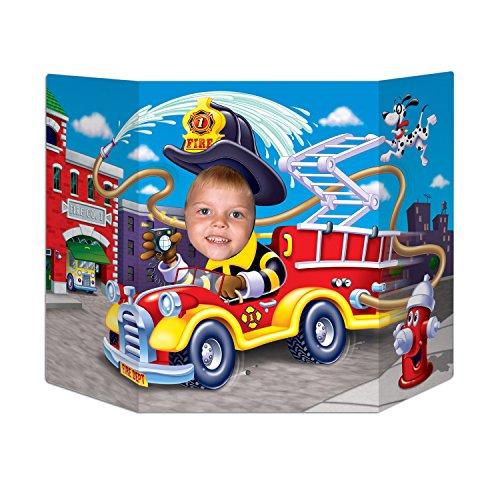 (Beistle 57991 Fire Truck Photo Prop, 3-Feet 1 by 25-Inch)