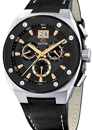 Jaguar j620/5 Reloj para Hombre Analógico de Cuarzo con Brazalete de Piel de Vaca J620/5: Amazon.es: Relojes