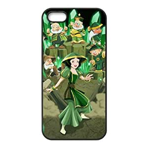 Disney Snow White And The Seven Dwarfs Character iPhone5s Cell Phone Case Black PhoneAccessory LSX_724920