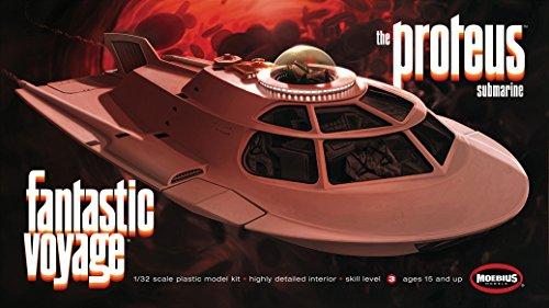 Fantastic Voyage Proteus Moebius Model Kit