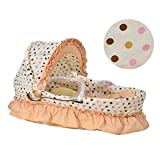 Baby Corn Leaf Basket Set Moses Palm Basket Bed Cradle (B)