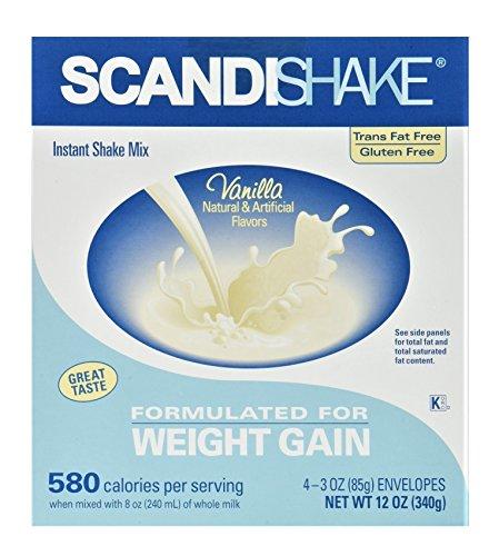 MCK58912600 – Oral Supplement Scandishake Vanilla 3 oz. Individual Packet Powder
