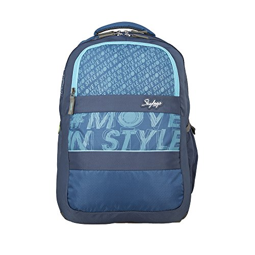 Skybags 32 Ltrs Blue Laptop Backpack (BPVAD1BLU)