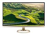 Acer H277HU kmipuz 27-Inch IPS WQHD 2560 x 1440 Display, USB 3.1 Type-C port, HDMI, DP, 2 x 3w speakers