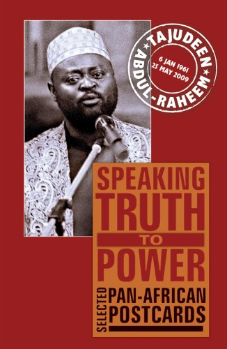 - Speaking Truth to Power: Selected Pan-African Postcards