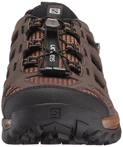 Evasion Absolute Sandal Outdoor X Salomon Black Cabrio Burro Men's Brown 5BqOXwS