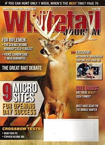 Whitetail Journal Magazine October 2016 | 9 Micro Sites for opening day
