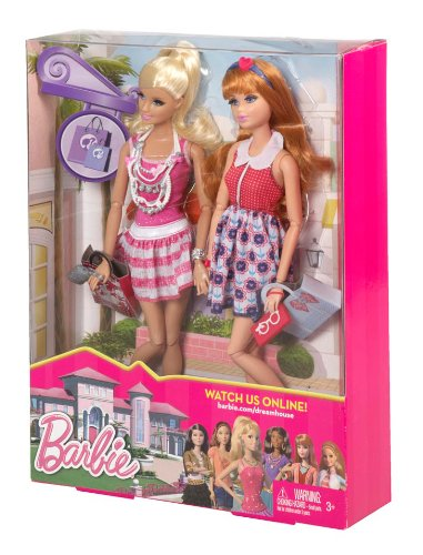 Barbie Life in the Dreamhouse Barbie /& Midge Giftset Mattel Y7448