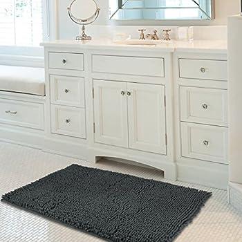 Amazoncom Mayshine X Inch Absorbent Soft Microfibers Of - Machine washable bathroom carpet for bathroom decor ideas