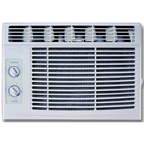 - RCA 5,000 BTU 115V Window Air Conditioner with Mechanical Controls, White