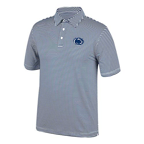 Top of the World NCAA Men's Penn State Nittany Lions Team Color Stretch Bunker Polo Navy Large ()