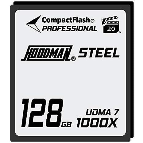 Hoodman 1000x Raw Steel Class 7 CompactFlash - Tarjeta de ...