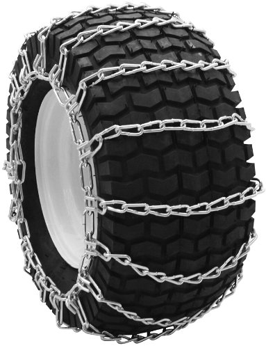 Security Chain Company QG0262 Quik Grip Garden Tractor and Snow Blower Tire Traction Chain - Set of 2