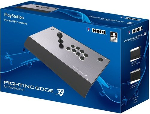 HORI Fighting Edge Arcade Fighting Stick for PlayStation 4 Officially Licensed by ()