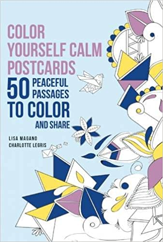 Color Yourself Calm Postcards: 50 Peaceful Passages to Color