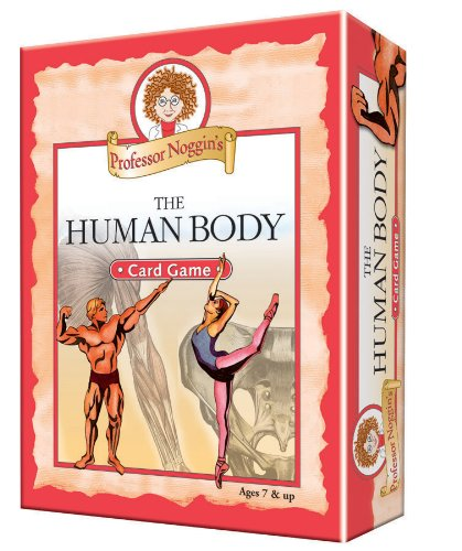 Professor Noggin's Human Body - A Educational Trivia Based Card Game For Kids (Human Body Game)