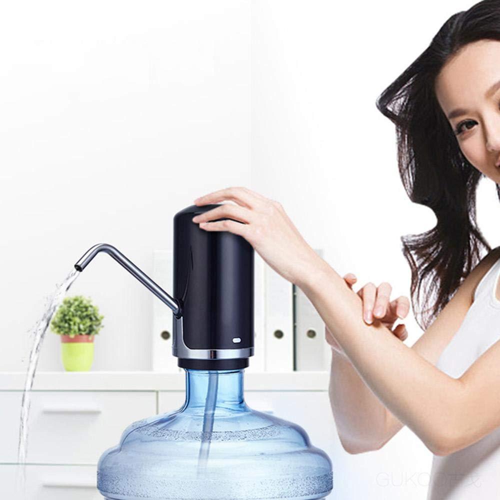 Layopo Electric Drinking Water Pump, USB Charging Universal Gallon Bottle Water Pump by Layopo (Image #6)
