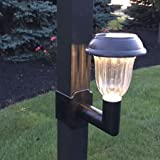Solar Lanai Lights 1 Light -Brightness 5 LUMEN, Clip on for Patio's, screen enclosures and Pool Cage Lighting