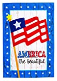 Evergreen America the Beautiful Linen House Flag, 28 x 44 inches Review