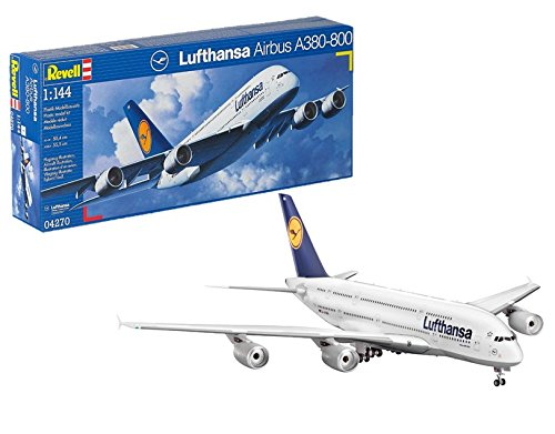 House Airbus (Revell 1:144 Scale Airbus A380-800 Lufthansa Plastic Kit (model))