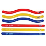 Swimline Doodles Inflatable Pool Noodle Float, 6 Count