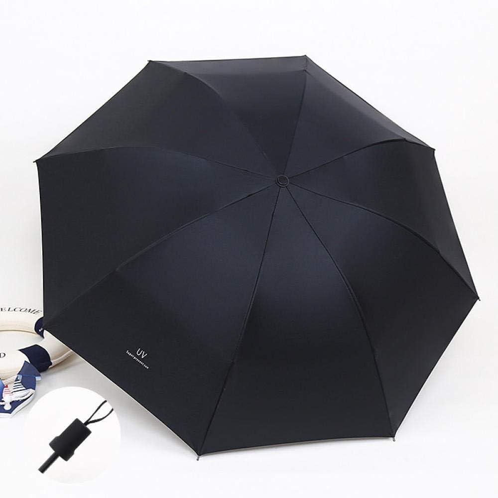JIANG Parapluie Femelle Pluie Double Usage Parapluie Pliant Automatique Parasol Protection Solaire UV Grand zmzm Neuf Automatique Blanc Ivoire