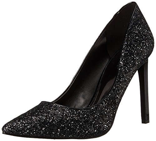 Nine West WomenS Tatiana Synthetic Dress Pump, Black Glitter, 42 B(M) EU/9 B(M) UK
