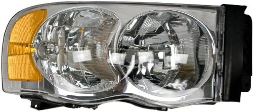 Unknown Partslink Number CH2502135 OE Replacement Dodge Pickup Driver Side Headlight Assembly Composite